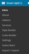 06e admin menu.  thumbnail