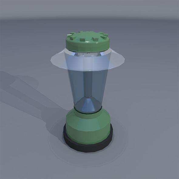 Low Poly Charger Light - 3DOcean Item for Sale