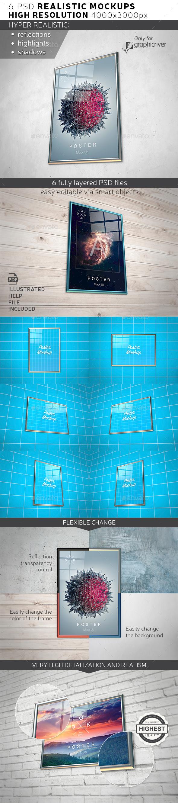 Print / Poster Mock-up - Posters Print