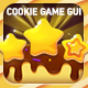 Chocolate Sweet Cookie Game GUI Set - GraphicRiver Item for Sale