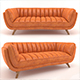 Bruno leather sofa - 3DOcean Item for Sale