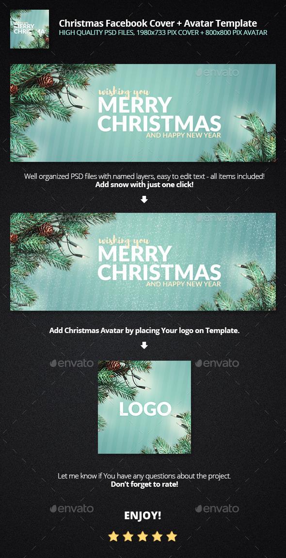 Merry Christmas - Facebook Timeline Covers Social Media