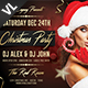Christmas Party Poster / Flyer V05 - GraphicRiver Item for Sale