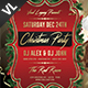 Christmas Party Poster / Flyer V06 - GraphicRiver Item for Sale