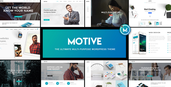 Motive – Multi-Purpose WordPress Business Theme