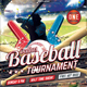 Baseball Tournament Flyer Template - GraphicRiver Item for Sale