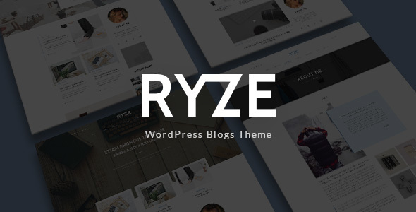 Ryze - Blog/Magazine WordPress Theme