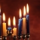 Lighting Hanukkah Candles Hanukkah Celebration - VideoHive Item for Sale