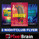 Night Club Party Flyer Template Bundle Vol - 03 - GraphicRiver Item for Sale