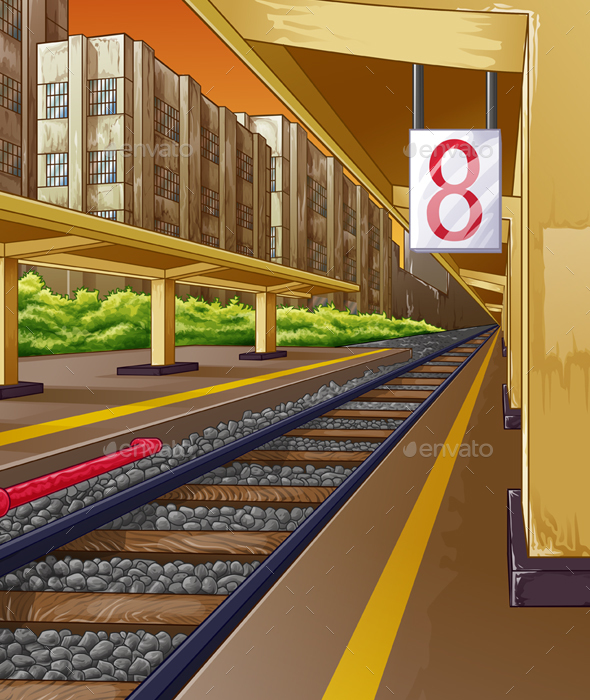 Railway - Backgrounds Decorative