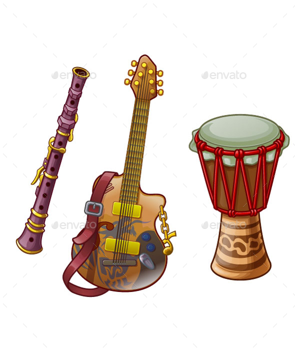 Musical Instrument - Man-made Objects Objects