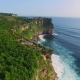 Uluwatu Cliff Aerial Footage, Bali, Indonesia - VideoHive Item for Sale