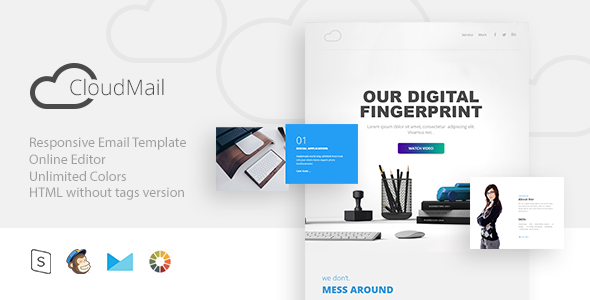 cloud Mail – Responsive Email + StampReady Builder