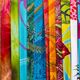 Amazing colorful Balinese sarongs for sale in Ubud, Bali, Indone - PhotoDune Item for Sale