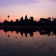 Sunrise in Angkor Wat, a UNESCO Heritage Site in Cambodia - PhotoDune Item for Sale