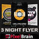 Night Club Party Flyer Template Bundle Vol - 04 - GraphicRiver Item for Sale