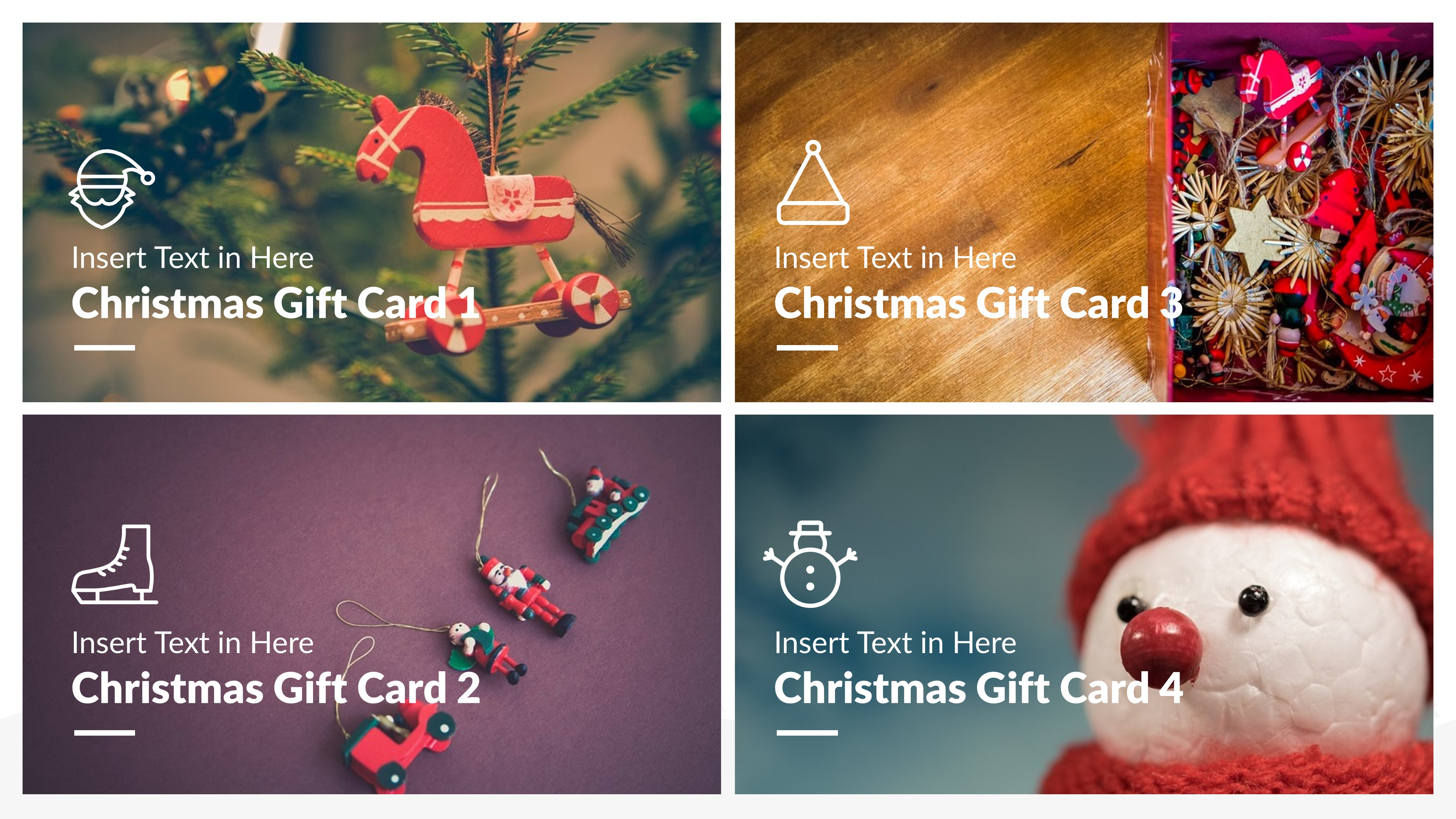 Christmas package business powerpoint template by brandearth jpg preview image setslide31 alramifo Image collections
