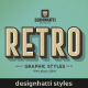 Retro Vintage Text Styles Vol.02 - GraphicRiver Item for Sale