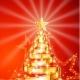 Golden Film Strip Christmas Tree - GraphicRiver Item for Sale