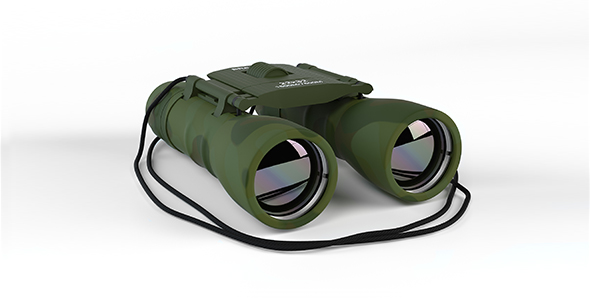 Binoculars - 3DOcean Item for Sale