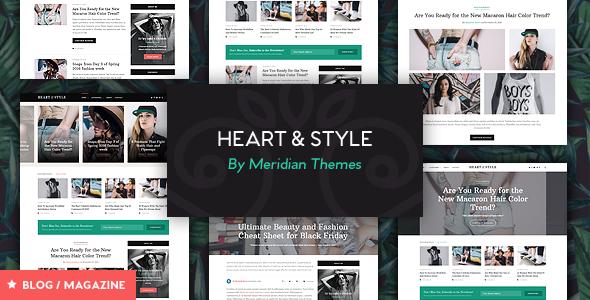 Heart & Style - Responsive Magazine Theme