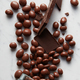 chocolate balls background - PhotoDune Item for Sale