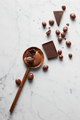 wooden spoon with chocolate - PhotoDune Item for Sale