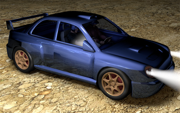 Subaru Impreza WRX STI WRC - 3DOcean Item for Sale