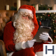 Santa Claus With Magic IPad - VideoHive Item for Sale