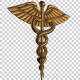 3D Gold Medical Icon