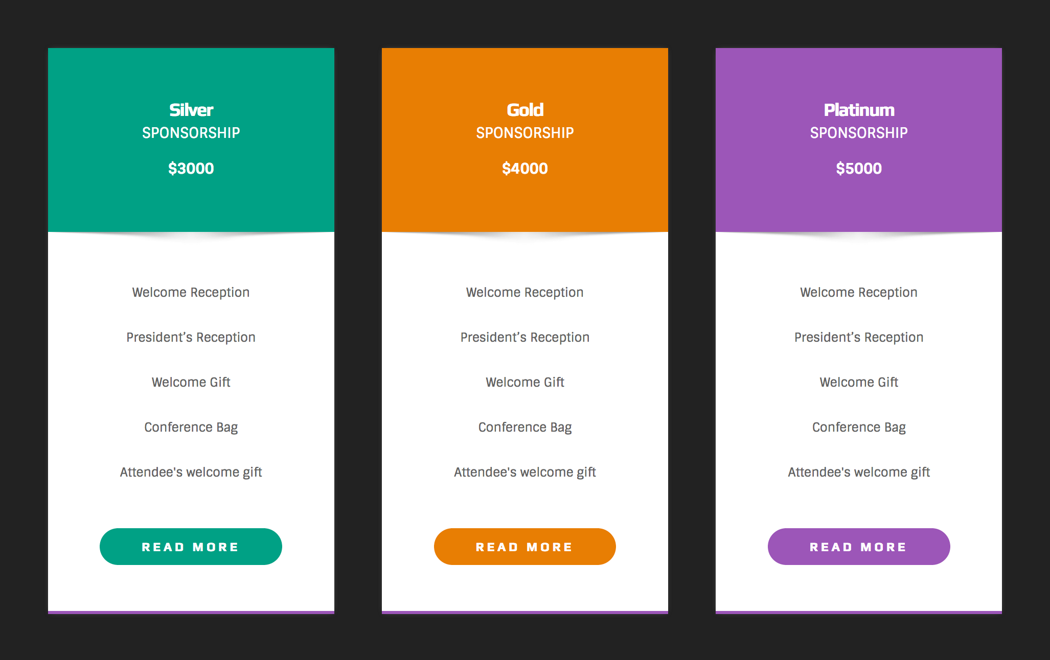 Pricing tables for wpbakery page builder visual composer for Table design wordpress plugin