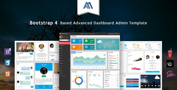 Admire – Bootstrap 4 Admin Template