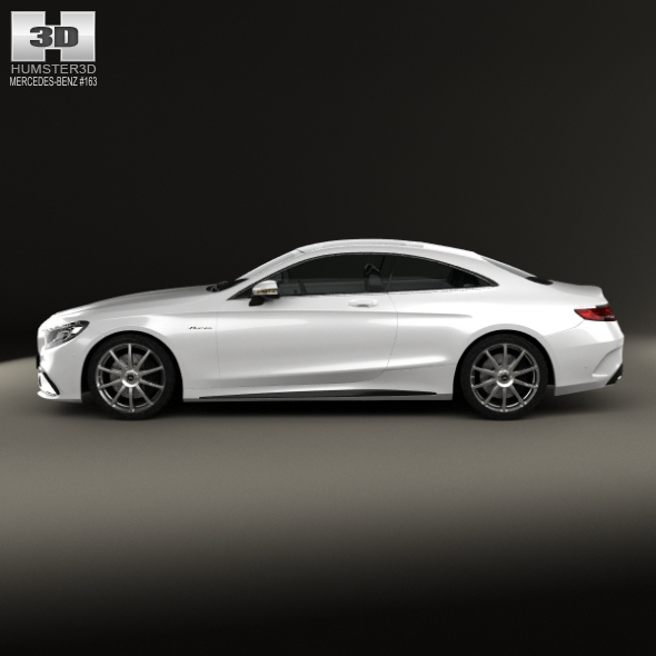 Mercedes benz s class 63 amg coupe 2014 by humster3d 3docean for Mercedes benz s class coupe 2014