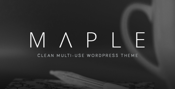 Image of Maple | Responsive Clean Multi-Purpose WordPress Theme