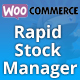 Woocommerce Rapid Stock Manager and Stock Audit also for Multiple Warehouses