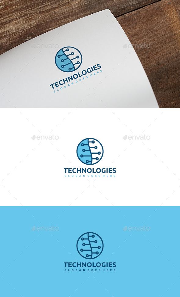 Technology Logo - Abstract Logo Templates