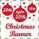 Christmas Sale Banner HTML5 - Animate - CodeCanyon Item for Sale