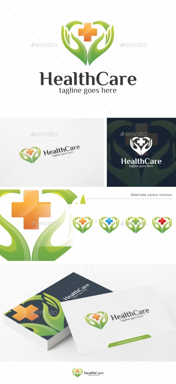 Healthcare / Heart - Logo Template - Symbols Logo Templates