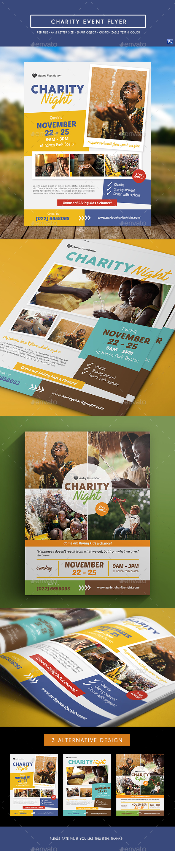 Charity Event Flyer - Events Flyers