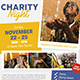 Charity Event Flyer-Graphicriver中文最全的素材分享平台