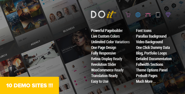 DOIT - Creative MultiPurpose Theme