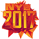 New Year NYE 2017 Flyer & Poster - GraphicRiver Item for Sale