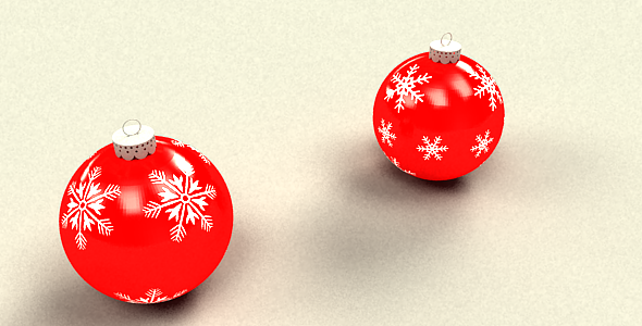 Christmas ball - 3DOcean Item for Sale