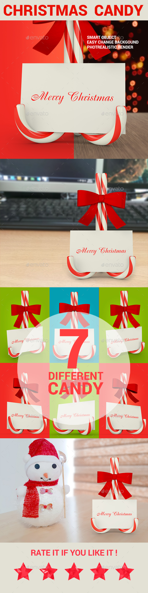 Christmas Candy Mock-Up - Miscellaneous Print