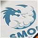 Dragon Smoke Logo - GraphicRiver Item for Sale
