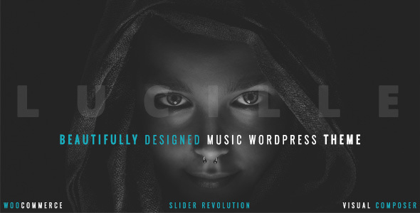 Lucille - Music WordPress Theme - Music and Bands Entertainment