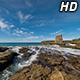 Waves Breaking at Cathedral Rocks - VideoHive Item for Sale