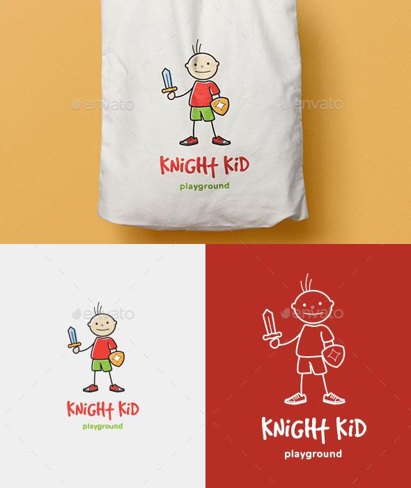 Knight Kid Logo - Humans Logo Templates