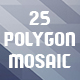 Abstract Polygon Mosaic Backgrounds - GraphicRiver Item for Sale