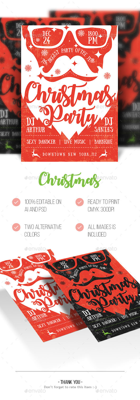 Christmas - Commerce Flyers